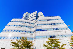 IAC building by architect Frank Gehry in NYC Royalty Free Stock Photo