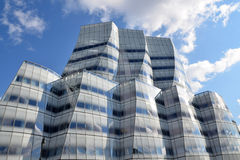 IAC Building by Frank Gehry. IAC Building in Manhattan, New York City by architect Frank Gehry Royalty Free Stock Photos