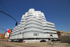 IAC Building in New York City Stock Images