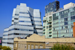 IAC Building Royalty Free Stock Photos