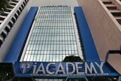 iAcademy Manila, Filippinerna Arkivbilder