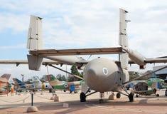 IAI Arava. HATZERIM, ISRAEL - JANUARY 02: IAI Arava, the utility transport plane designed in Israel, is displayed in Israeli Air Force Museum on January 02, 2012 Royalty Free Stock Photo