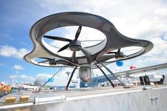 IAI che montra la loro piattaforma di osservazione legata elettrica (ETOP) a Singapore Airshow 2012 Fotografia Stock