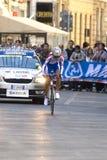 Iakovenco Rusia, 5to lugar de Anastasiia. Championshi del mundo del camino de UCI Fotografía de archivo