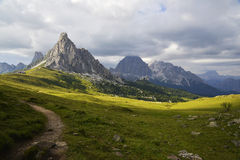 Italian alpine landscape Stock Photo