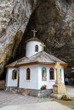 Ialomita Cave Monastery Royalty Free Stock Photo