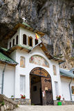 Ialomita Cave Monastery Royalty Free Stock Images