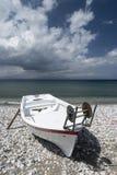 Ialysos海滩罗得岛 免版税库存照片