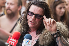 Ian Astbury Royalty Free Stock Photo
