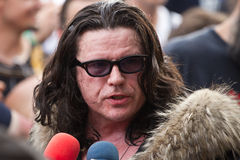 Ian Astbury Royalty Free Stock Images