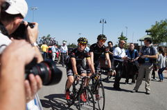 Ian Boswell 2012 Amgen Tour of California  Royalty Free Stock Photos