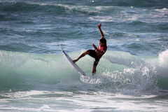 Ian Gouveia Surfest 2014 Royalty Free Stock Photography