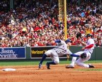 Ian Kinsler Texas Rangers Photographie stock libre de droits