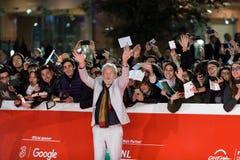 Ian McKellen: Bawić się część czerwonego chodnika - 12th Rzym Ekranowy Fest Zdjęcia Stock
