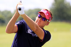 Ian Poulter au golf français ouvrent 2013 Photo stock