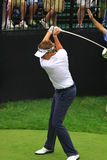 Ian Poulter on the course. Ian Poulter of Great Britain competes on the pro golf tour Stock Photography