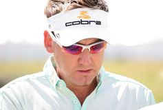 Ian Poulter  (eng) Golf French Open 2009 Stock Images