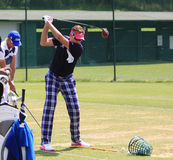 Ian Poulter at The French golf Open 2013 Stock Images