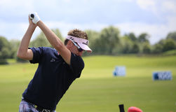 Ian Poulter at the French Open 2012 Royalty Free Stock Photos