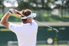 Ian Poulter at golf French Open 2010 Royalty Free Stock Photography