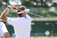 Ian Poulter at golf French Open 2010 Royalty Free Stock Image