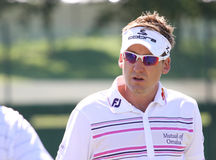 Ian Poulter at golf French Open 2010 Royalty Free Stock Photos