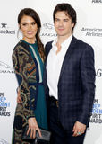 Ian Somerhalder and Nikki Reed Royalty Free Stock Images