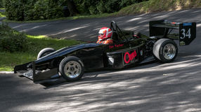 Ian Tucker in the OMS CR07 racing Royalty Free Stock Photos