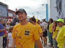 Ian-Wandererkapitän von Abu Dhabi Ocean Racing Lizenzfreie Stockfotos