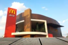 IANGMAI, THAILAND - MAY 13: McDonald's building Royalty Free Stock Photos