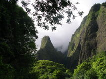 Iao Needle. Maui Hawaii royalty free stock photography