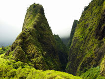 Iao Needle on Iao Valley, Maui Hawaii Stock Images