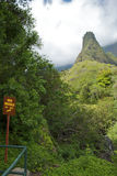 Iao Needle State Park Royalty Free Stock Photos