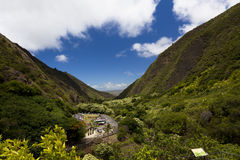 Iao Needle state park in Maui, Wailuku Royalty Free Stock Photo