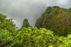 Iao Needle Royalty Free Stock Photography