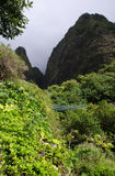 Iao State Park, Maui Royalty Free Stock Photos