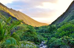 Iao Valley Royalty Free Stock Photography