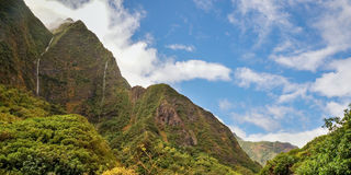 Iao Valley, Maui, Hawaiian island, USA Royalty Free Stock Images