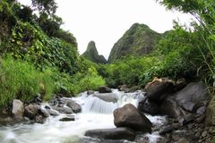 Iao valley. Needle Royalty Free Stock Photography