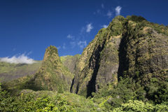 Iao Valley, needle on a sunny day, Maui, Hawaii Stock Image