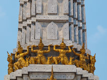 Iaques tailandeses da escultura Imagem de Stock