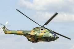 IAR 330美洲狮直升机 免版税库存图片