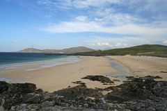Iar Beach, Isle of Harris, Outer Hebrides Royalty Free Stock Photos