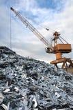 Iarda del residuo Immagini Stock