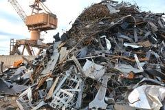 Iarda del residuo Fotografia Stock