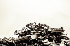 Iarda del residuo dell'automobile Fotografia Stock