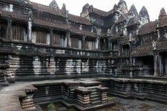 Iarda del tempio di Angkor Wat Fotografia Stock Libera da Diritti