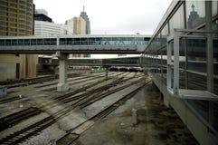 Iarda del treno di Toronto Immagini Stock