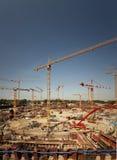 Iarda della costruzione Fotografie Stock Libere da Diritti