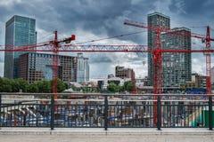 Iarda della costruzione Fotografia Stock